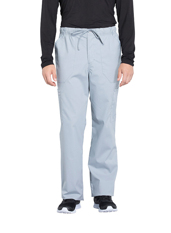 d026ae5ec11 Scrubs Cherokee WW Professionals Men's Tapered Leg Drawstring Pant Grey  Ww190 Short XS. About this product. Picture 1 of 3; Picture 2 of 3; Picture  3 of 3