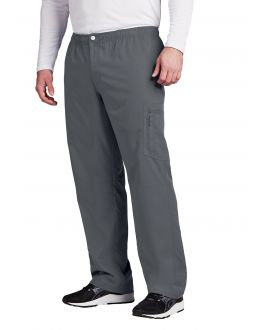 Grey's Anatomy Scrubs Active Male 7Pkt Cargo Zip Fly Button Pant