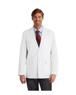 "GREY'S ANATOMY 0916 MALE 4 PKT 30"" BACK VENT LABCOAT"