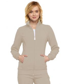 Cherokee Infinity Scrubs Women's Zip Front Warm-Up Jacket
