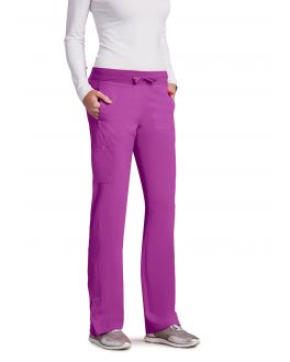 BARCO ONEBARCO ONE 5205T FEMALE TALL 4PKT KNIT WAIST SEAMED PANT