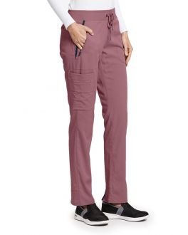 Grey's Anatomy Impact Scrubs Women's TALL 6 Pockets Drawstring Cargo Pant