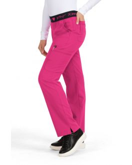 Betsey Johnson Scrubs Women's TALL Yarrow Elastic Waist Pant