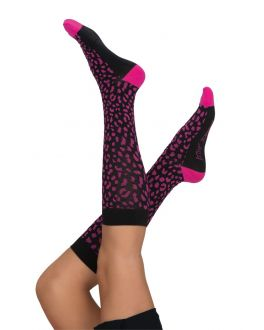 Betsey Johnson Scrubs Animal Compression Socks