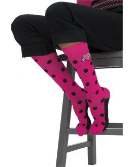 Betsey Johnson Scrubs Betseys Ikat Dot Compression Socks