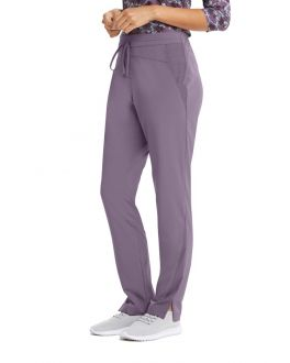 Barco One Wellness Women's TALL 4 Pockets Flat Gel Drawcord Cargo Scrub Pant