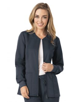 Code Happy - Medical CH312A Women's Zip Front Warm-Up Jacket