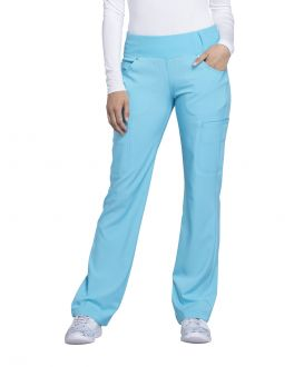 Cherokee iFlex CK002 Women's Mid Rise Moderate Flare Pull-On Pant