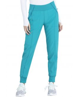 CherokeeInfinity by Cherokee CK110A Women's Mid Rise Tapered Leg Jogger Pants
