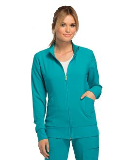 Cherokee iFlex CK303 Women's Zip Front Warm Up Jacket