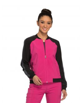 Infinity by Cherokee CK310A Women's Zip Front Warm-up Jacket
