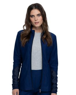 Cherokee Scrubs Women's Zip Front Jacket