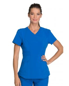 Infinity by Cherokee CK623A Women's V-Neck Top