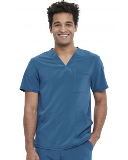 CherokeeMedical - Tops Navy Men Men's V-Neck Top