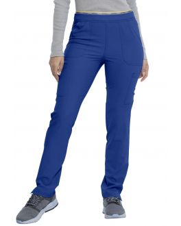 Dickies Scrubs Women Mid Rise Tapered Leg Pull-On Cargo Pant