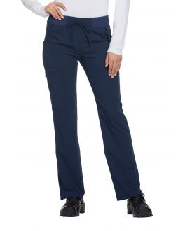 Dickies Xtreme Stretch DK112P Women's PETITE Mid-Rise Drawstring Cargo Pant