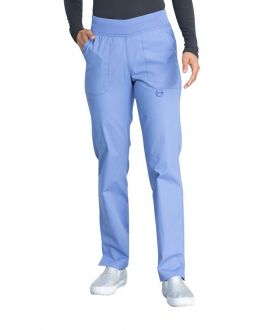 Dickies Scrubs EDS Women's Mid Rise Tapered Leg Pull-On Pant