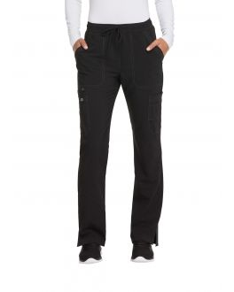 Dickies Advance Scrubs Women's TALL Mid Rise Boot Cut Drawstring Pant