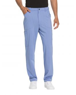 Dickies Advance Scrubs Men's TALL Straight Leg Zip Fly Cargo Pant
