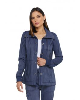 Dickies Advance Scrubs Women's Snap Front Jacket