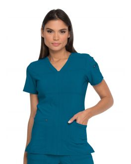 Dickies Advance Scrubs Women's V-Neck Top