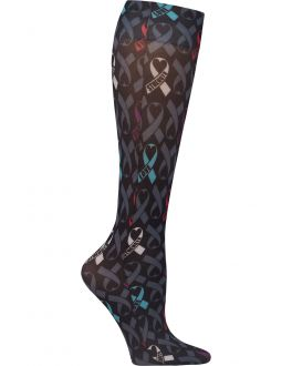 Cherokee Awareness For All Knee High 12 mmHg Compression Sock