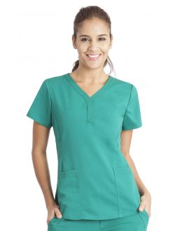 Healing Hands Scrubs Jane Women's Y-Neck Top