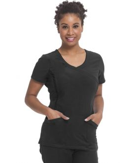 Healing Hands Scrubs Courtney Women's Mock Wrap Top
