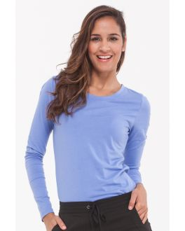 Healing Hands Scrubs Melissa Women's Long Sleeve Crew Neck Tee