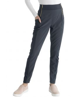 Heartsoul Medical Scrubs Women's Natural Rise Skinny Leg Pull-On Pant