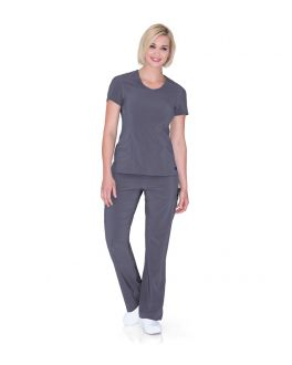 Urbane Scrubs Women's Surplice Round Neck Top