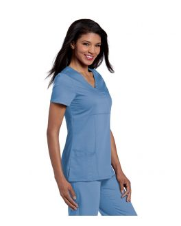 Urbane Scrubs Women's Ashley Mock Wrap Top