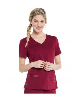 Urbane Scrubs Women's Julie Classic Four Pocket Top