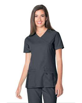 Urbane Scrubs Women's Quick Cool Crossover Top