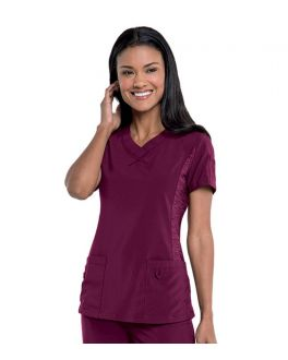 Urbane Scrubs Women's Quick Cool Sport V-Neck Top