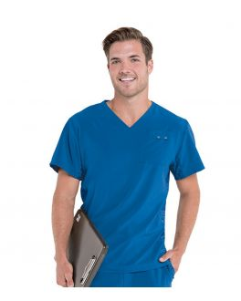 Urbane Scrubs Men's Quick Cool V-Neck Top