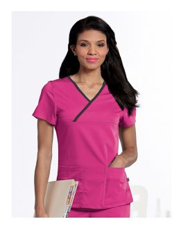 Urbane Scrubs Women's Mandi Crossover Top