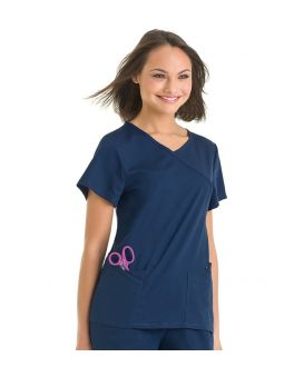 Urbane Scrubs Women's Sophie Crossover Top