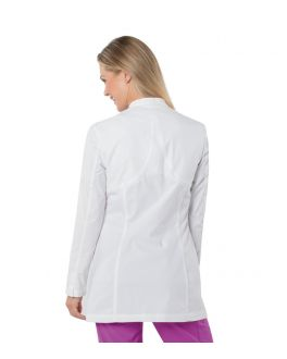 Urbane Scrubs Women's Media Button Closure Lab Coat