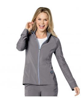 Urbane Scrubs Women's Quickcool Zip Warm-up Jacket