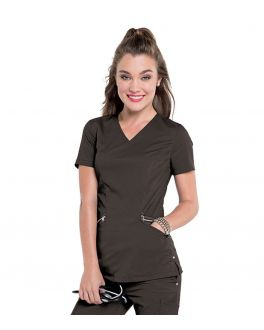 Smitten Scrubs Women's Idol V-Neck Top