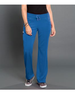 Smitten Scrubs Women's Electric Ponte Pannel Front Pant