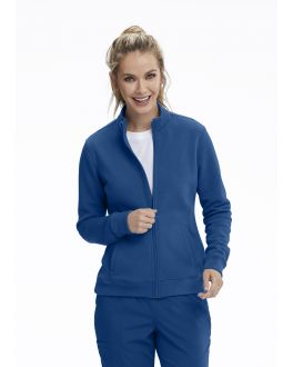 Motion By Barco Scrubs Women's 2 Pockets Rib Waist Jacket