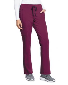 Motion By Barco Scrubs Women's PETITE Claire Elastic Back Pant