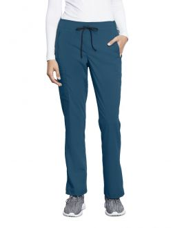 Motion By Barco Scrubs Women's TALL Claire Elastic Back Pant