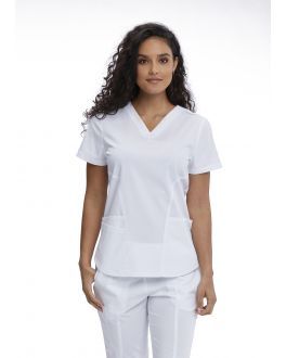 Motion By Barco Scrubs Women's Jill V-Neck Top