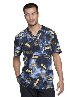 Tooniforms Night Life Men's V-Neck Top