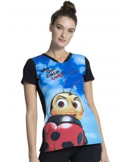 Tooniforms My Name Is Francis V-Neck Top