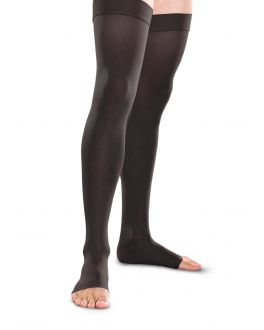 Therafirm Knit-Rite Women's 30-40Hg Thigh High Open Toe TF768