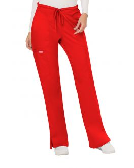 WorkWear Revolution WW120T Women's TALL Mid Rise Moderate Flare Drawstring Pant